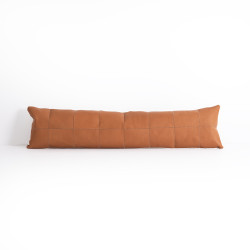 Four Hands Sandro Lumbar Pillow, Whiskey, Single