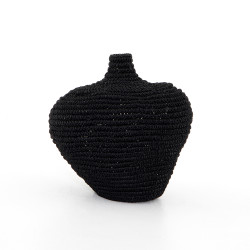 Four Hands Bodhi Basket - Black