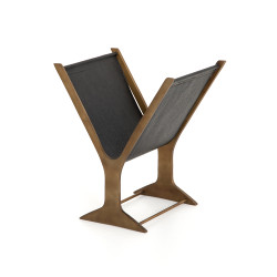 Four Hands Feldman Magazine Rack - Black