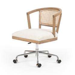 Four Hands Alexa Desk Chair - Light Honey Oak