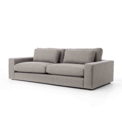 """Four Hands Bloor 98"""" Sofa - Chess Pewter"""