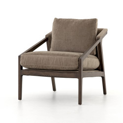 Four Hands Earl Occasional Chair - Sage Worn Velvet
