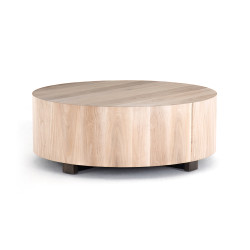 Four Hands Hudson Coffee Table - Ashen Walnut
