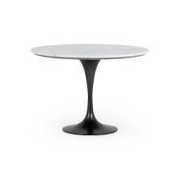 """Four Hands Powell Dining Table - 42"""" - White Marble"""