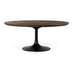 """Four Hands Powell Dining Table - 71"""" - English Brown Oak"""