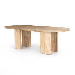 Four Hands Lunas Oval Dining Table