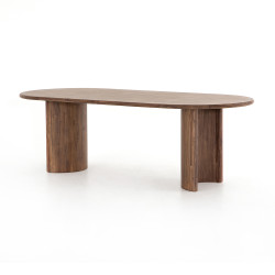 Four Hands Paden Dining Table - Seasoned Brown Acacia