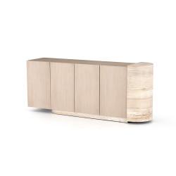 Four Hands Liv Sideboard - Pale Oak Veneer