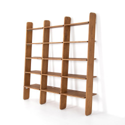 Four Hands Jeet Bookshelf - Light Acacia