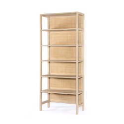 Four Hands Caprice Large Bookshelf - Natural Mango