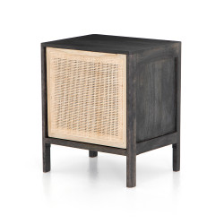 Four Hands Sydney Nightstand - Right - Black Wash