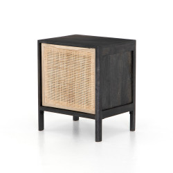 Four Hands Sydney Nightstand - Left - Black Wash