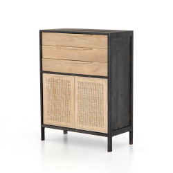 Four Hands Sydney Tall Dresser - Black Wash