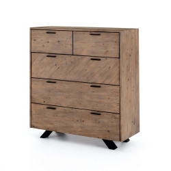 Four Hands Viva 5 Drawer Dresser - Sundried Ash