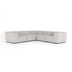 Four Hands Gwen Outdoor 5 Pc Sectional
