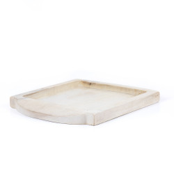 Four Hands Tadeo Square Tray - Ivory