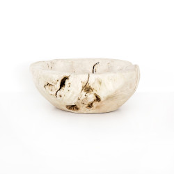 Four Hands Reclaimed Wood Bowl - Ivory