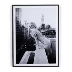 "Four Hands Marilyn On The Roof I By Getty Images - 36""X48"""