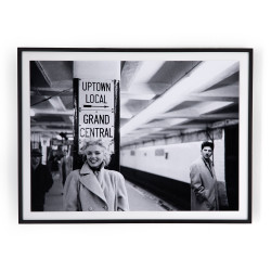 "Four Hands Grand Central Marilyn By Getty Images - 40""X30"""