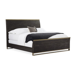 Caracole Remix Wood Bed King Bed