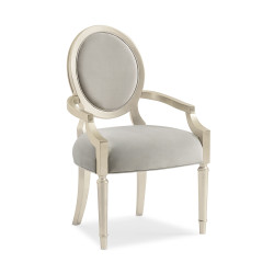 Caracole Chit Chat Arm Dining Chair - Set of 2