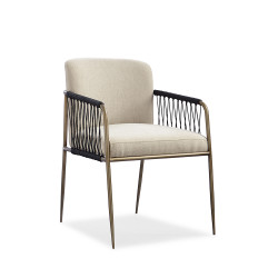 Caracole Remix Woven Dining Chair