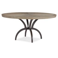 Caracole Rough And Ready 54 Dining Table