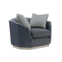 Caracole Expressions Swivel Chair & 1/2