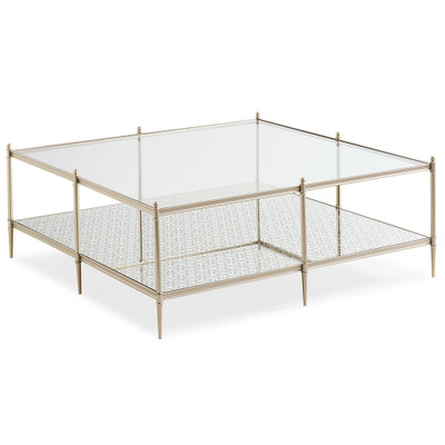 Caracole Perfectly Square Cocktail Table