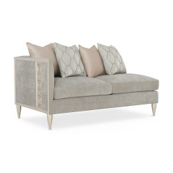 Caracole Fret Knot Laf Loveseat