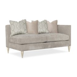 Caracole Fret Knot Raf Loveseat