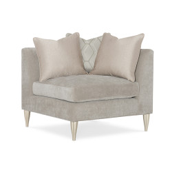 Caracole Fret Knot Corner Chair
