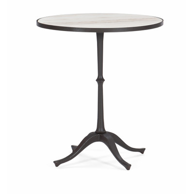 Caracole Around The Circle End Table