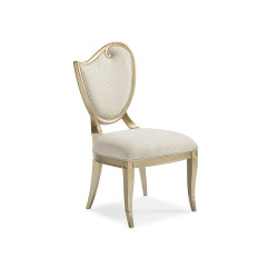 Caracole Fontainebleau Left Side Chair - Set of 2