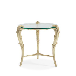 Caracole Fontainebleau Round End Table