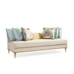 Caracole Fontainebleau Armless Sofa