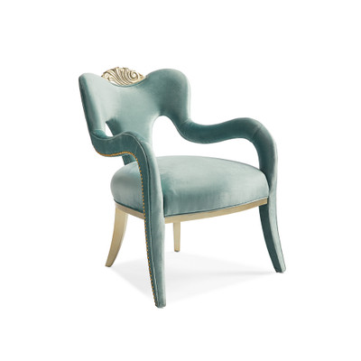 Caracole Fontainebleau Crown Chair