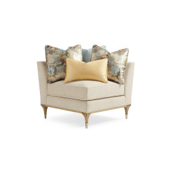 Caracole Fontainebleau Corner Chair