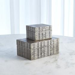 Kokoro Etched Box - Nickel - Sm