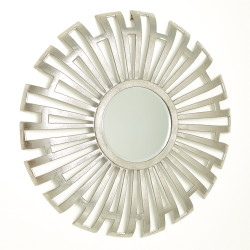 Radial Cut - Out Mirror - Nickel