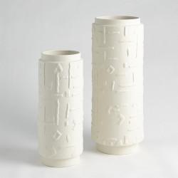 Sankuru Vase - Rustic White - Sm