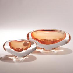 Abstract Bean Vase - Persimmon - Sm