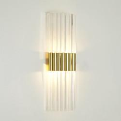 Acrylic Sconce - Brass - HW