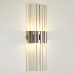Acrylic Sconce - Nickel - HW