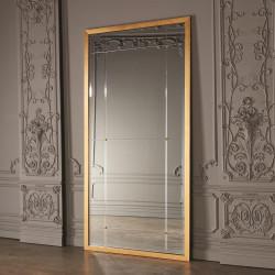 Beaumont Floor Mirror - Gold Leaf
