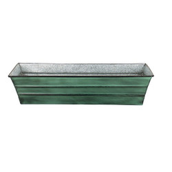 Galvanized Tin Window Box