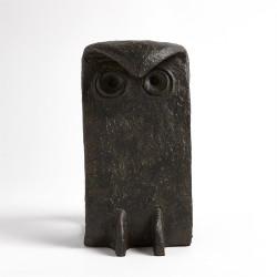 Bent Owl - Bronze Verdi