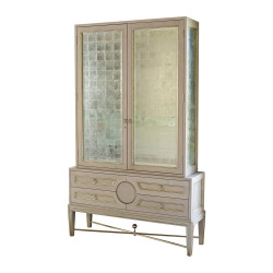Collectors Cabinet - Grey