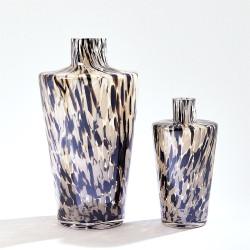 Confetti Shoulder Vase - Black/Beige - Sm