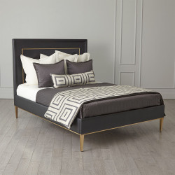 Ellipse Queen Bed - Black